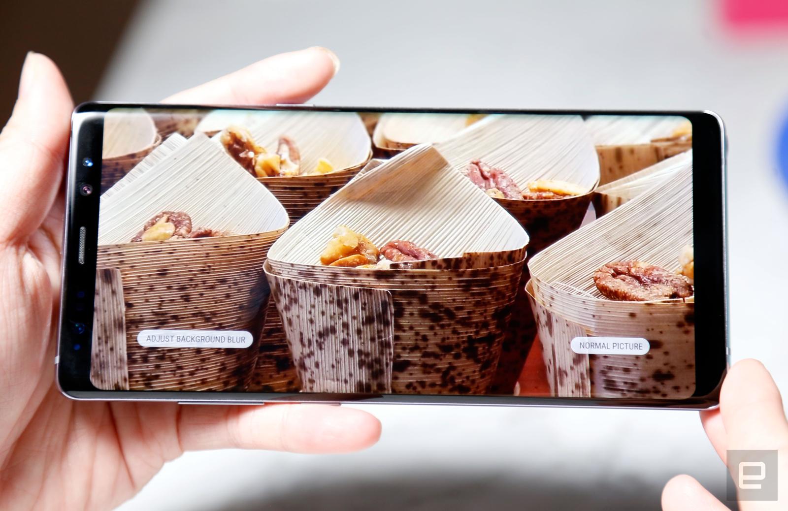 恩贝智能 三星 Galaxy Note 8 国行价格:6,988 元起 Via Engadget 中国版