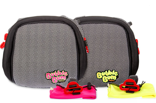 WIN a BubbleBum car booster seat!