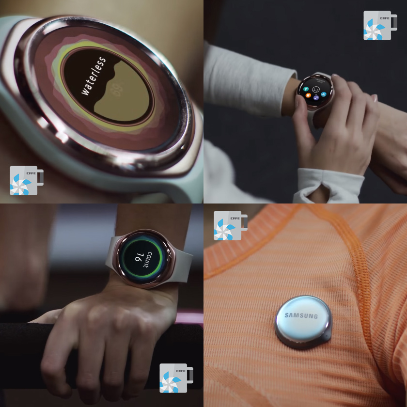 Samsung's new fitness tracker looks like a sporty Gear S2