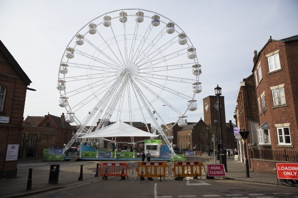 Is Dudley's ferris wheel the 'worst tourist attraction in Britain'?
