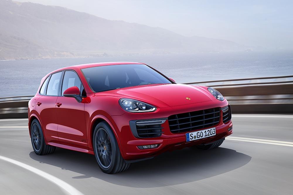Porsche, Porsche Cayenne, SUV, Cayenne GTS, Facelift,  Modellpflege, Mopf, Porsche Cayenne GTS, Porsche Cayenne GTS 2015, L.A. auto show, Los Angeles Auto Show, Premiere, revealed, Preis, offiziell