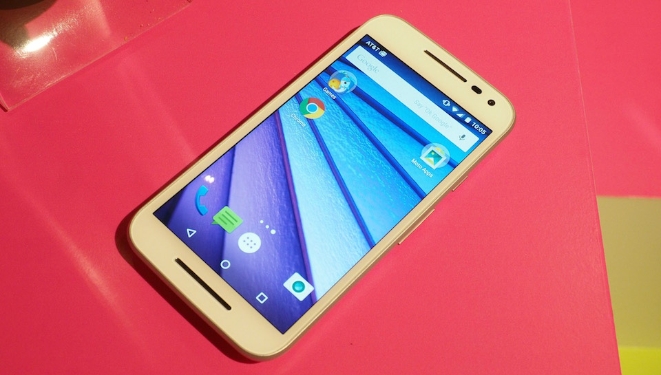 Moto G third-generation