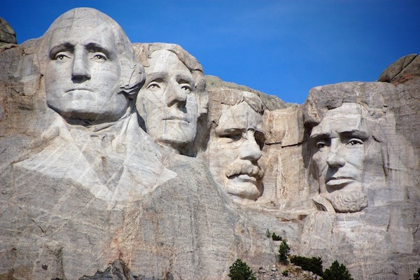 greatest things from every state, south dakota, mount rushmore