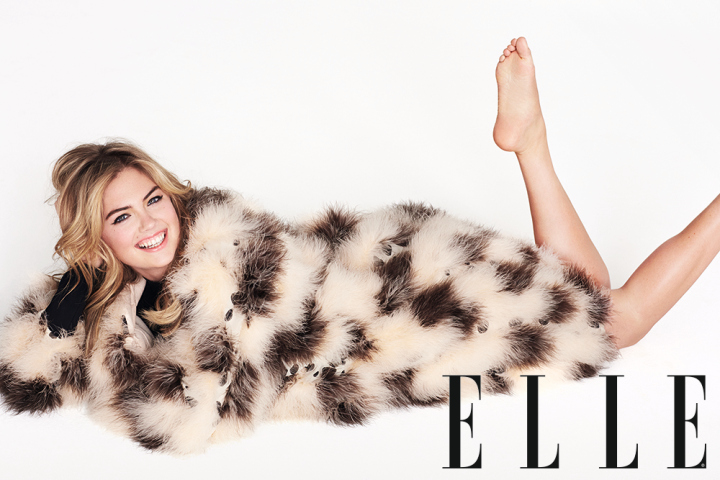 Kate Upton: 'You're ugly if you don't have a curvy body'