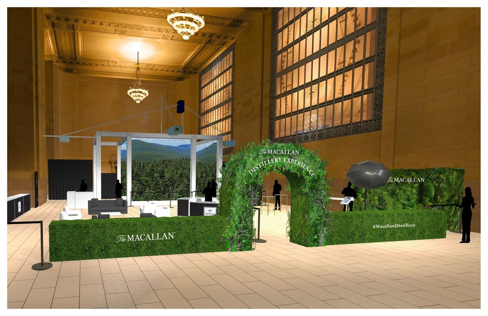 The Macallan Distillery Experience at Grand Central Station (PRNewsfoto/The Macallan)