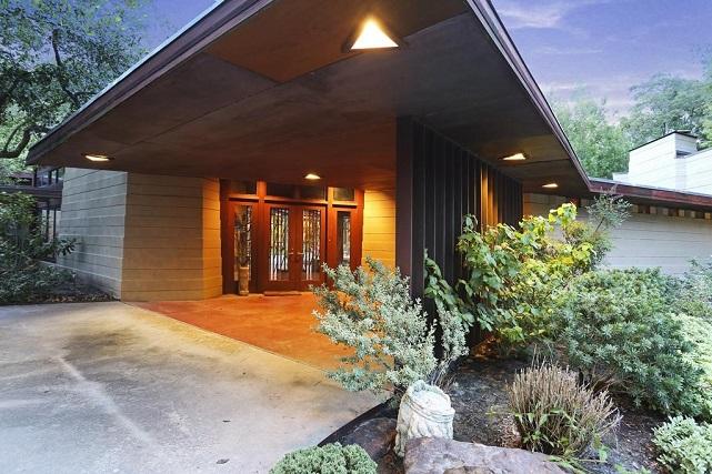 thaxton home by frank lloyd wright