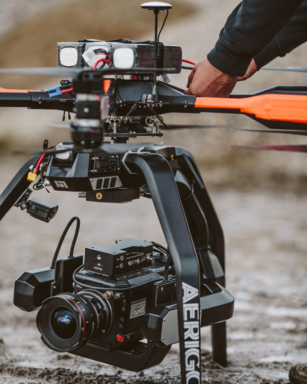 Filmmakers hack drone to carry 1,000 fps 4K camera