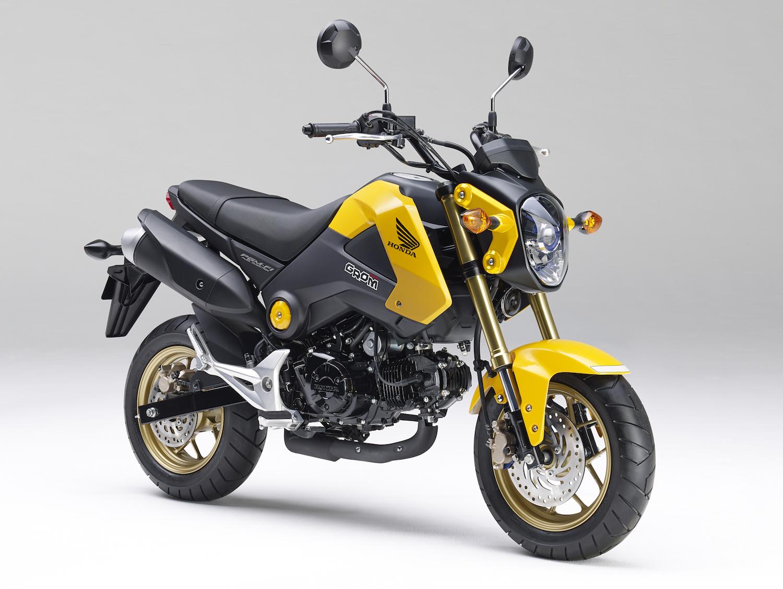 ホンダ、125ccのスポーツモデル「グロム」のカラーリングを変更し発売