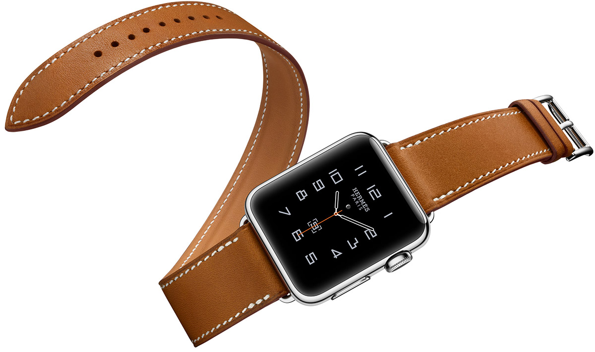 Apple reveals new Watch colors and a leather Hermes band