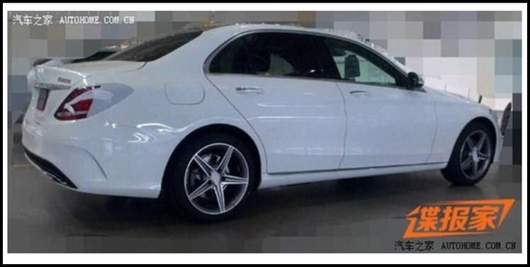 Mercedes-Benz, C-Klasse, Langversion, C260 L, Mercedes C 250 L, spy shot, erlkönig, V6, Mercedes C260 L, amg Line, foto, leaked, durchgesickert. c-class, w205