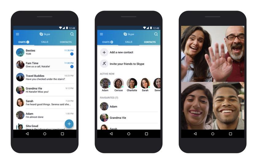 Microsoft optimiert Skype für ältere Android-Versionen