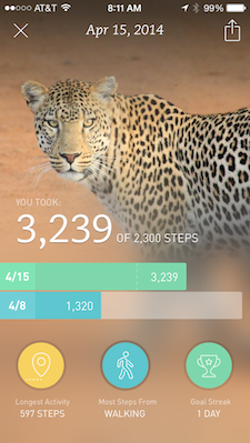 Breeze App: Runkeeper