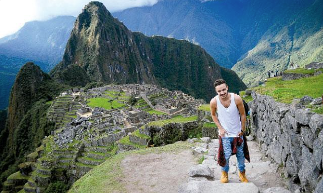 Liam Payne Machu Picchu