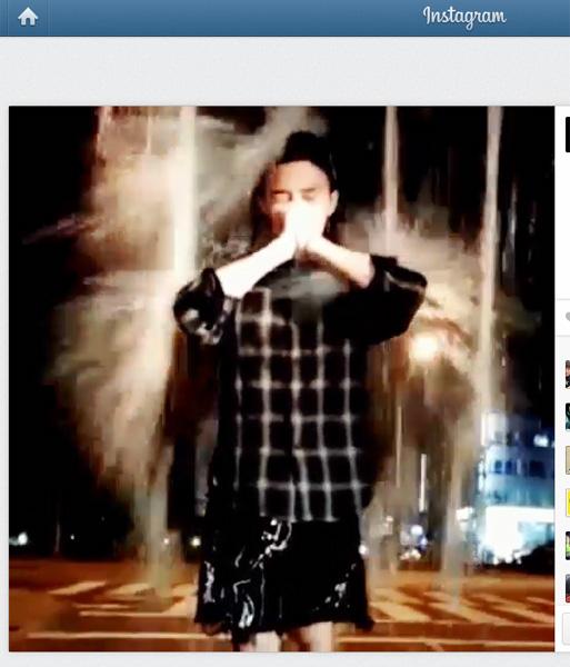 ALS患者支援に818万円寄付した「BIGBANG」のG-DRAGON 大量の氷水被りにもチャレンジ
