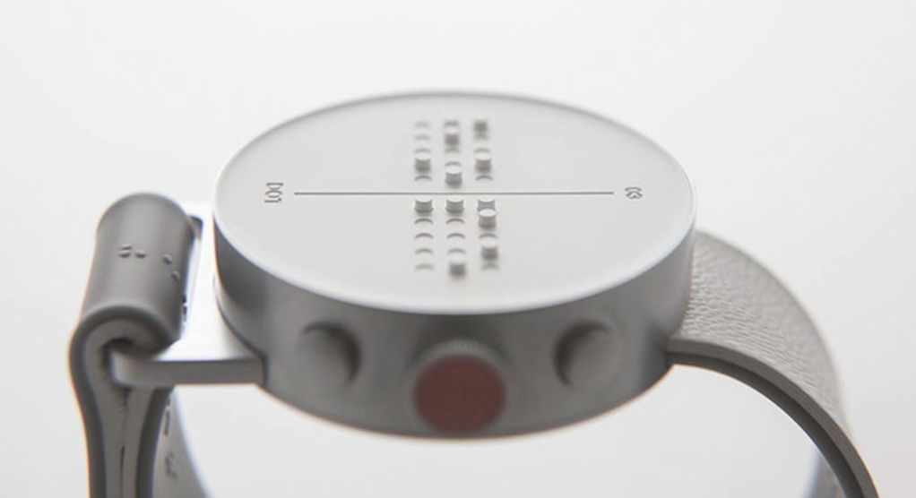 The Dot: Smartwatch mit Braille