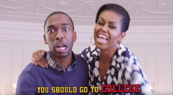 「大学に行こうYO!」 ミシェル・オバマ夫人がラップで若者に訴える動画がアツすぎる