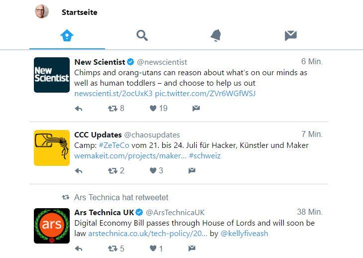 Twitter Lite: Datenarmes Browser-Twittern