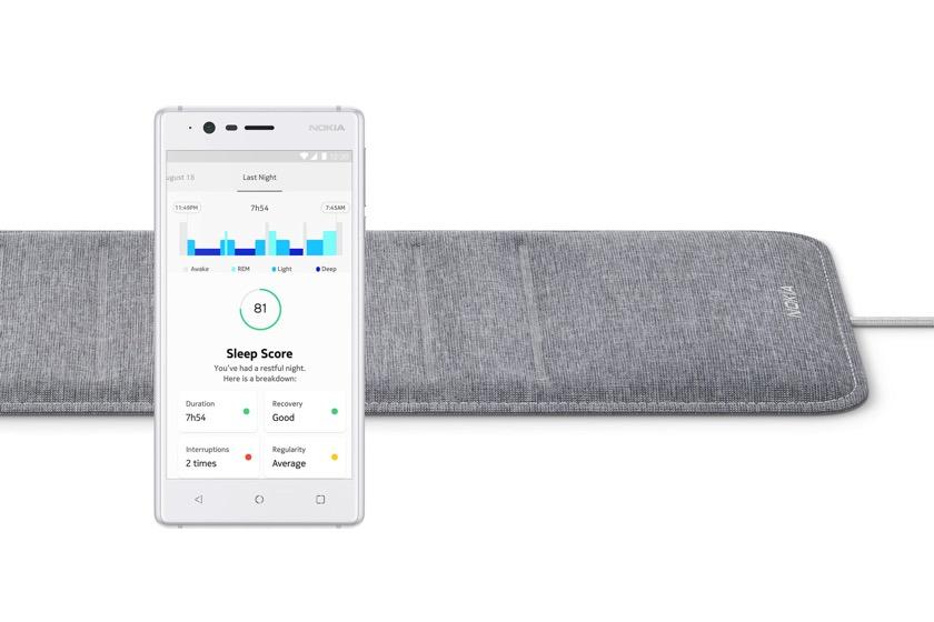 Nokia präsentiert smarten Schlafsensor