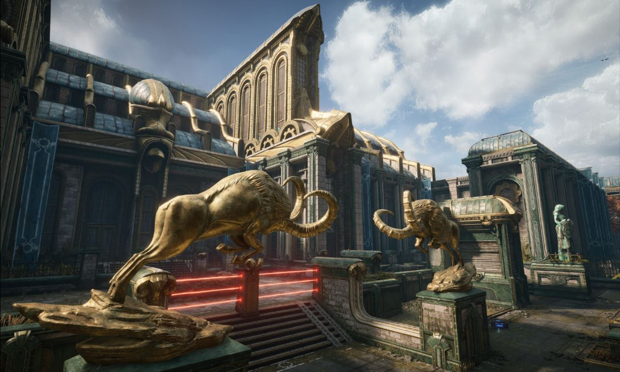 Gears of War 4: Security