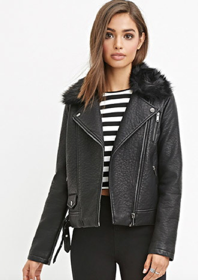 8 faux leather jackets that look real - AOL