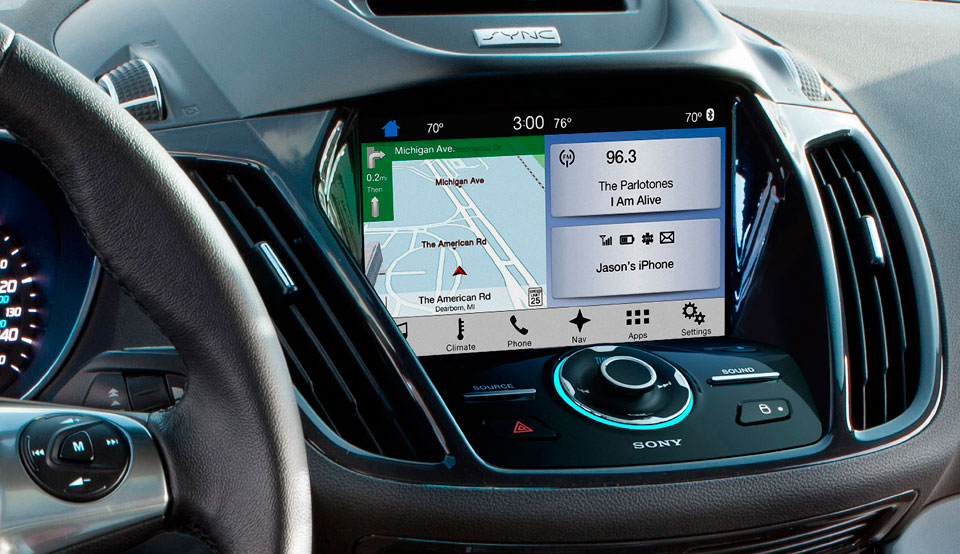 Android Auto y Car Play llegan a Ford con Sync 3