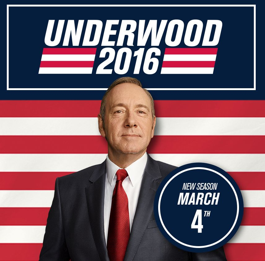 'House of Cards' season four is coming March 4th