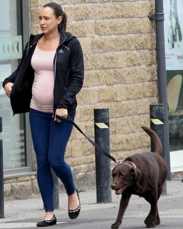 pregnant jessica ennis