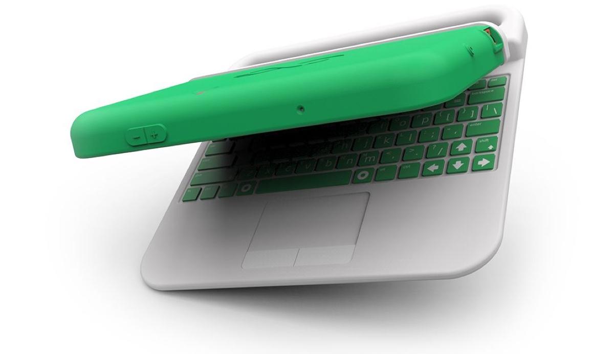 That crazy modular hybrid laptop for kids hits Indiegogo