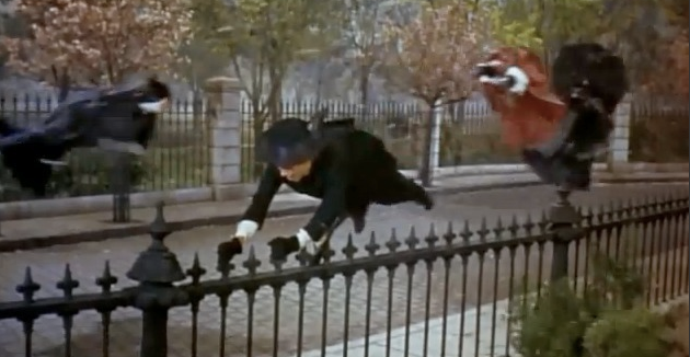 Scene from Marry Poppins