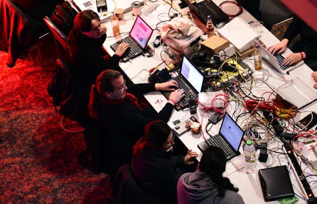 Laptops at Chaos Computer Club 2013