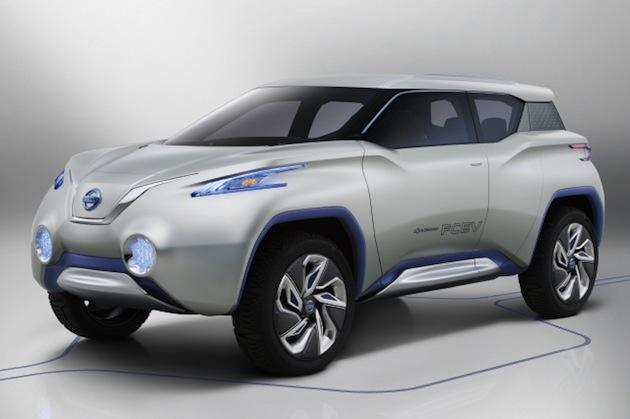 日産が新型「リーフ」をベースとする電気自動車のクロスオーバーSUVを開発中?