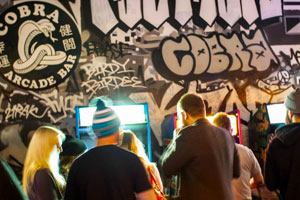 Building community through arcades and beer