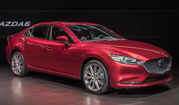 【LAオートショー2017】マツダ、マイナーチェンジした「Mazda6(アテンザ)」を公開! パワーも高級感もさらにアップ