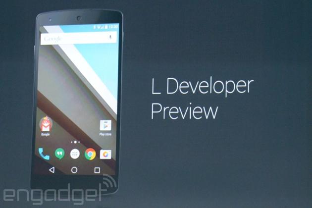 Google nos muestra un primer avance de Android L ...