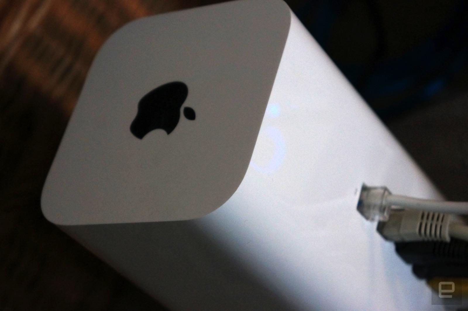 Apple podría haber cancelado su división de routers