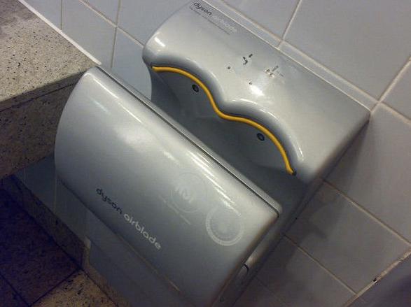 トイレにある高速ハンドドライヤーはペーパータオルの1300倍汚い!?最新研究で衝撃の事実が判明