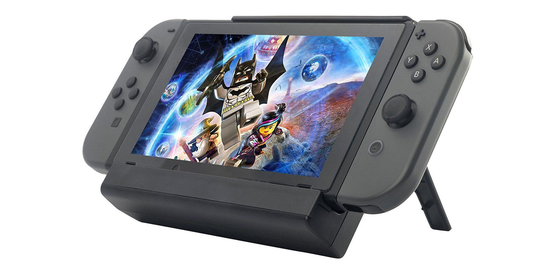 ZeroLemon Battery Charge Case, diez horas extra de juego para la Switch