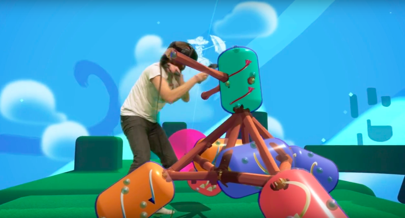 Immerse yourself in Vive's VR with two mixed-reality videos