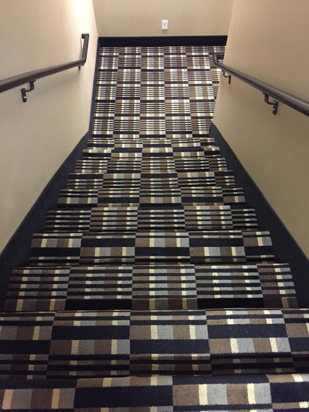 horrible designs, bad design ideas, designs that were horrible misfires, crazy stairs pattern