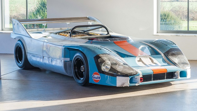 開発テストやレースで活躍したポルシェ「917/10」1号車がオークションに登場