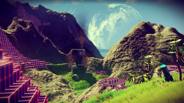 'Minecraft' meets 'Grand Theft Auto V' in space