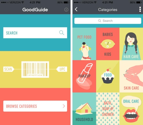 Daily App: GoodGuide helps you find green, healthy and socially responsible products