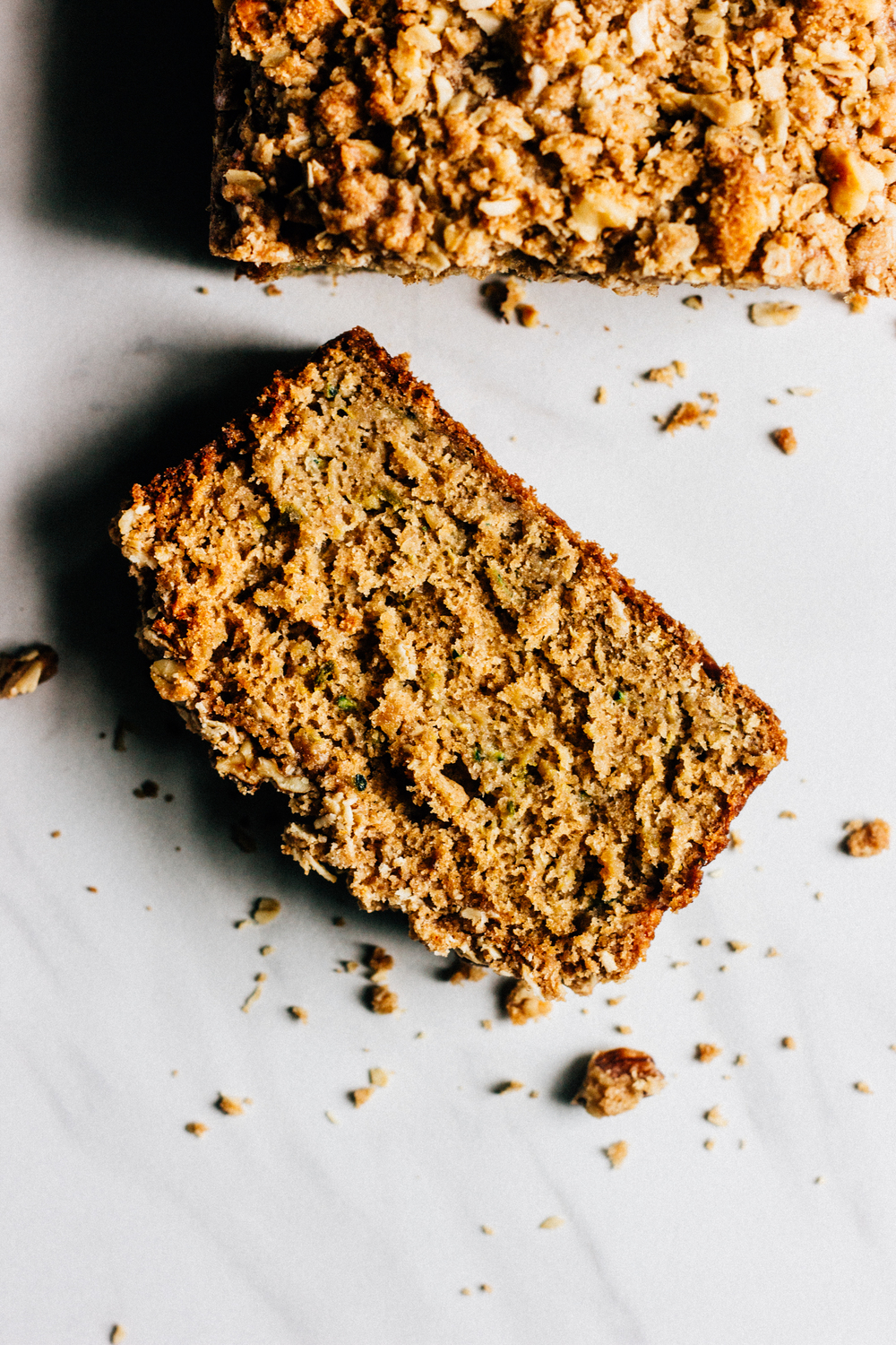Walnut-Oatmeal Streusel Recipe — Dishmaps
