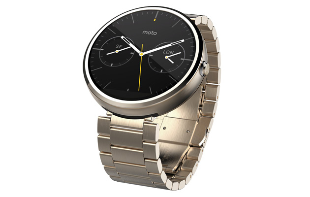 Gold Moto 360 makes a brief appearance at Amazon