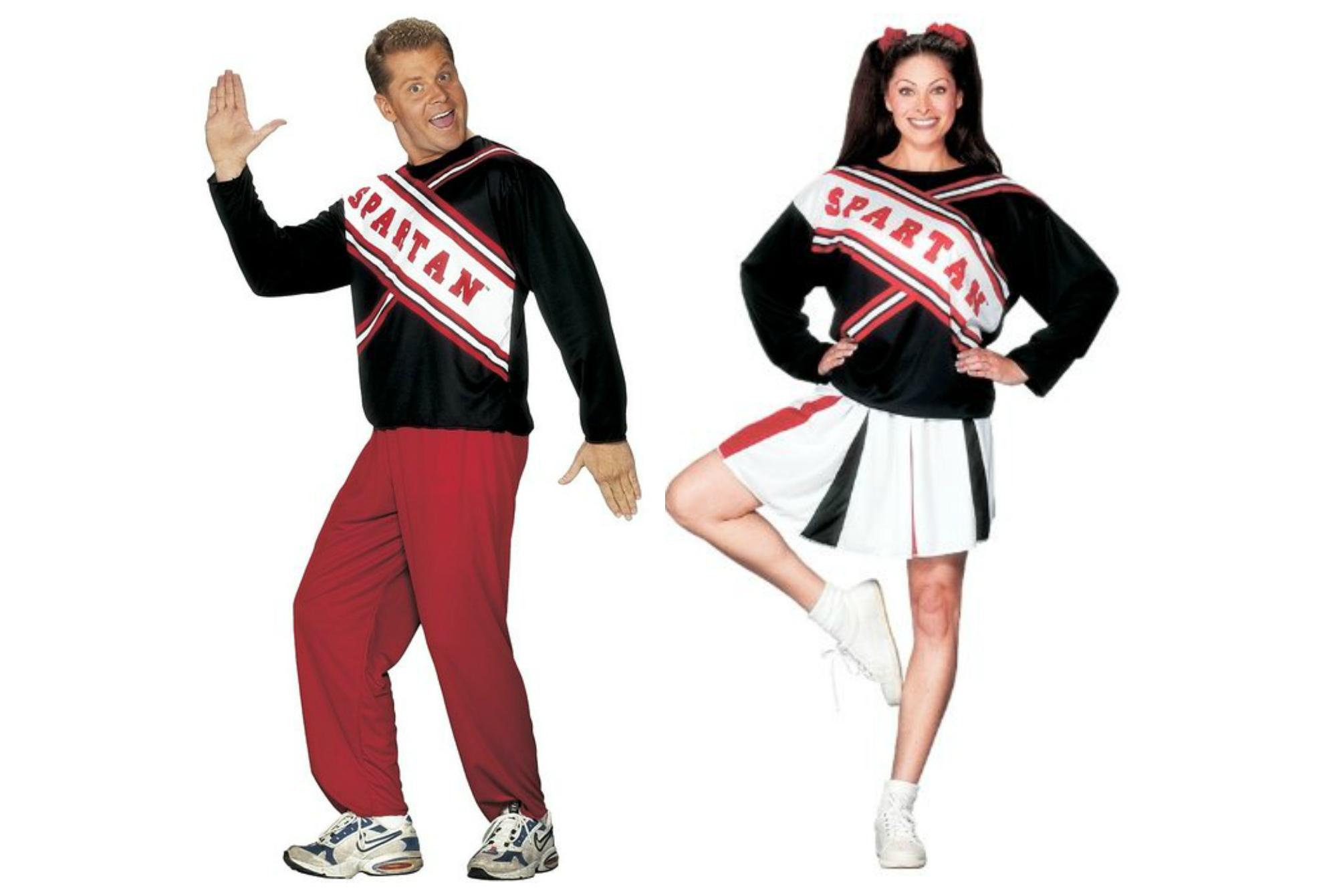 SNL Spartan Spirit Cheerleader Costume Adult