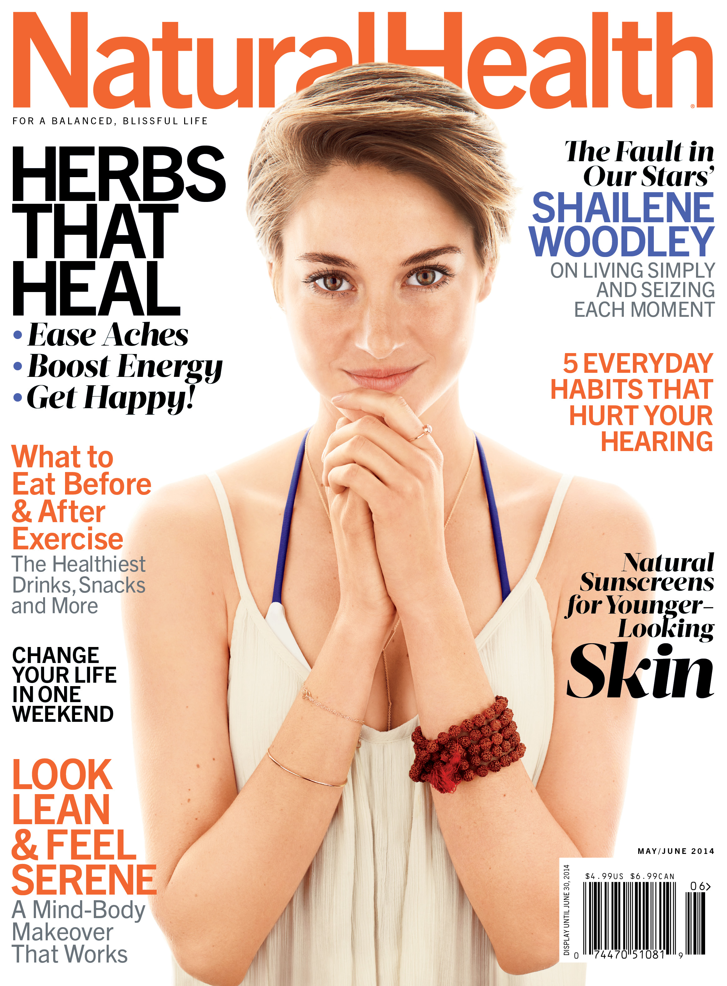 Shailene Woodley reveals why living sustainably is actually awesome
