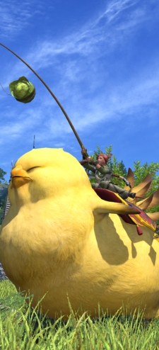 Don't you see?  When it comes to Atma, we are the fat chocobo.