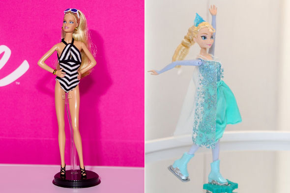 Is Barbie being frozen out?