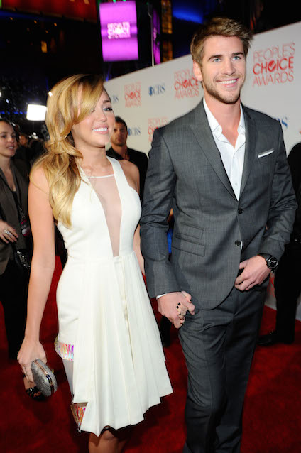 arrives at the 2012 People's Choice Awards at Nokia Theatre L.A. Live on January 11, 2012 in Los Angeles, California.