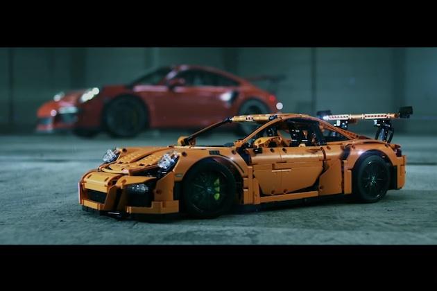 【ビデオ】組み立てに夢中になること間違いなし! ポルシェ「911 GT3 RS」のレゴが発売